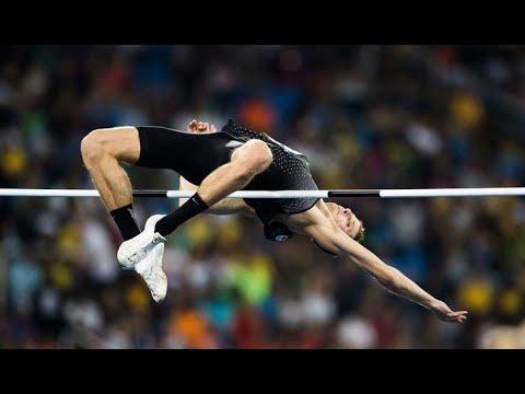 World Record High Jump 2.45 Javier Sotomayor - YouTube