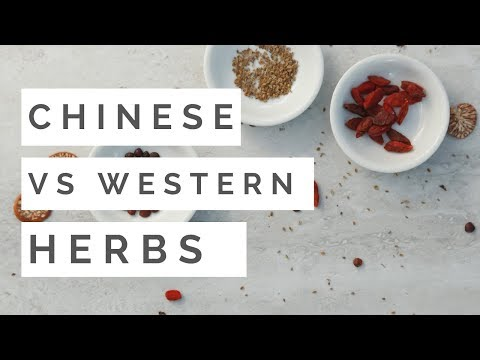 The Difference Between Western and Chinese Herbs