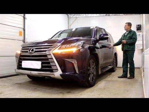 Lexus LX 450d 2016 г. Excellent Revolution 5