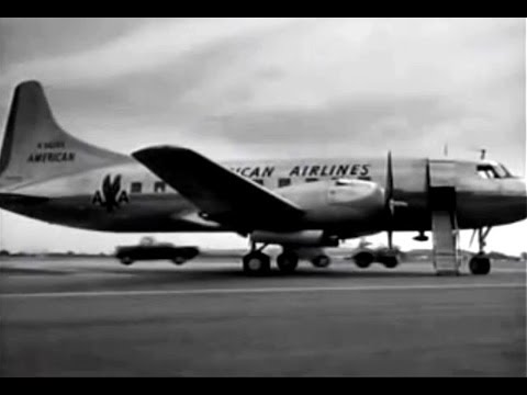 American Convair CV-240 & Jane Wyman - 1950