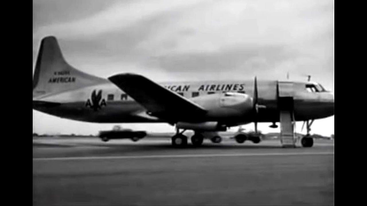 American Convair Cv 240 Amp Jane Wyman 1950 Youtube