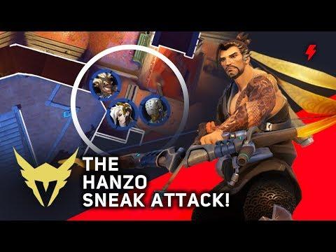 One Hanzo Flank Breaks NYXL's Defense in a Single Fight (Overwatch League) thumbnail