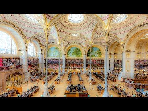 A Walk Around The Bibliothèque Nationale de France - Site Richelieu-Louvois, Paris