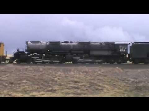 Union Pacific Big Boy 4014 Arrives in Cheyenne, WY