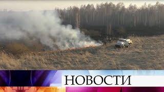 В Иркутской области горит более 9000 гектаров.