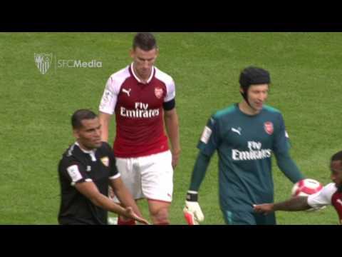 Arsenal - Sevilla F C  (Emirates Cup) 30/07/17