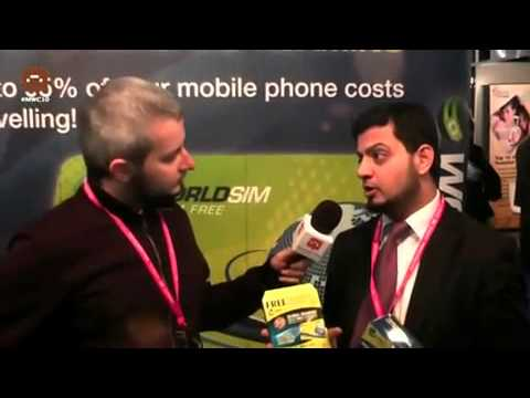 WorldSIM interview at Mobile World Congress Expo 2010