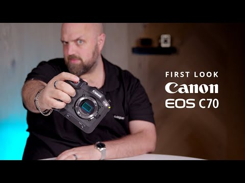 The CANON EOS C70 Cinema Camera Shoots 4K 120 Fps 4:2:2 10-bit INTERNALLY! | Canon C70 First Look