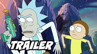 Rick And Morty Season 4 Trailer Official Easter Eggs And Jokes Breakdown