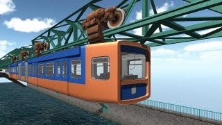 Schwebebahn-Simulator 2013 | Review / Testvideo