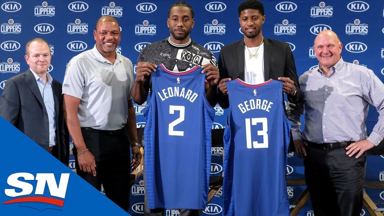 Los Angeles Clippers Introduce Kawhi Leonard, Paul George | Full Press Conference