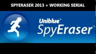 Uniblue SpyEraser 2013 + Working Serial - January 2013 Update!