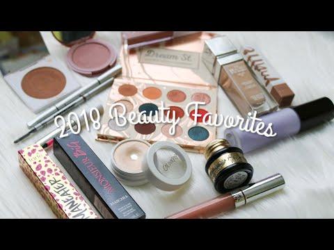 2018 BEAUTY FAVORITES!!