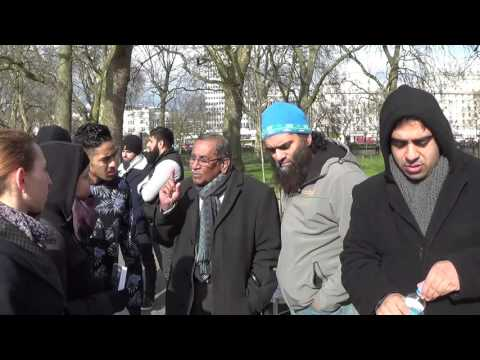 The Oneness of God.  Speakers corner Hyde Park
