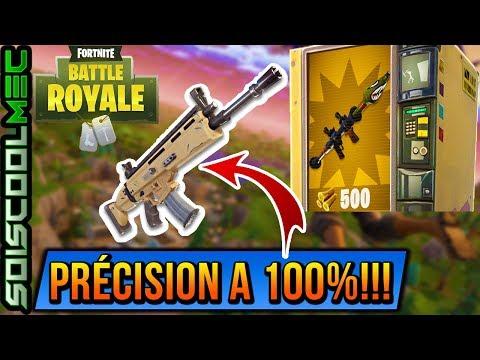nouvelle-fonction!-prÉcision-d'armes-a-100%!-fortnite-battle-royal!-maj-3.4.4!-info-news!