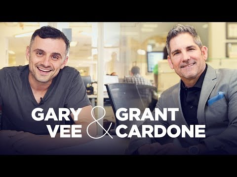 Gary Vaynerchuck & Grant Cardone Talk Business, College, Money and Entrepreneurs Live at 12PM EST