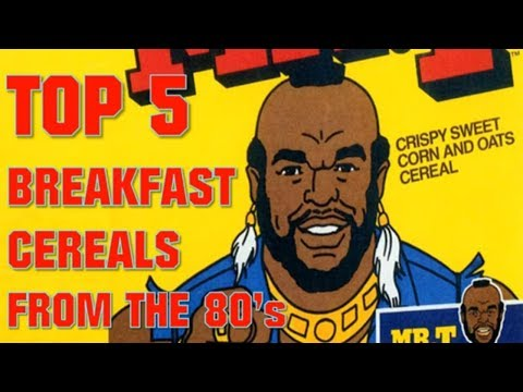 Morris Knight - Counting Down The Top 5 Cereals Of The 80s