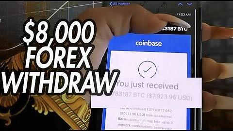 $8000 Live Forex Withdraw (Via Cash App & Coinbase)!!