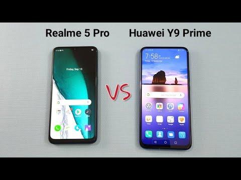 Realme 5 Pro vs Huawei Y9 Prime SpeedTest Camera Comparison