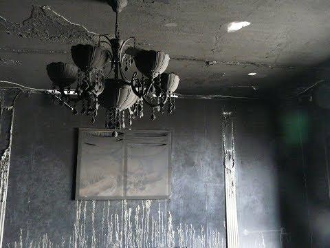 пескоструйная очистка квартиры после пожара
