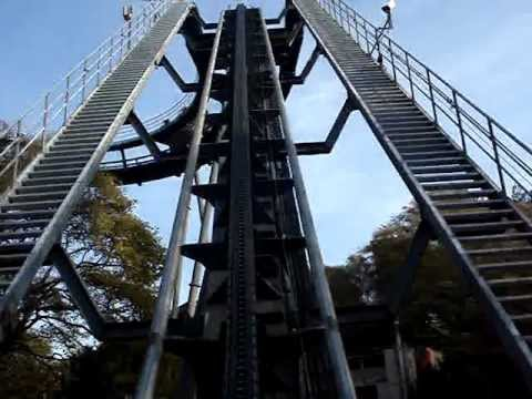 Roller coaster accident caught on tape (Alton Towers)