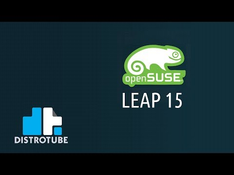 OpenSUSE Leap 15 Installation And First Look