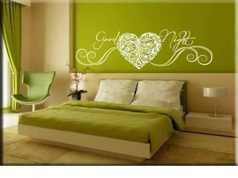Let's discover the most elegant and original inspirations. Adesivi Murali Per Camera Da Letto Youtube