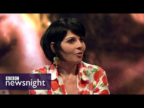 The film-maker who earned a fatwa for her debut feature - BBC Newsnight