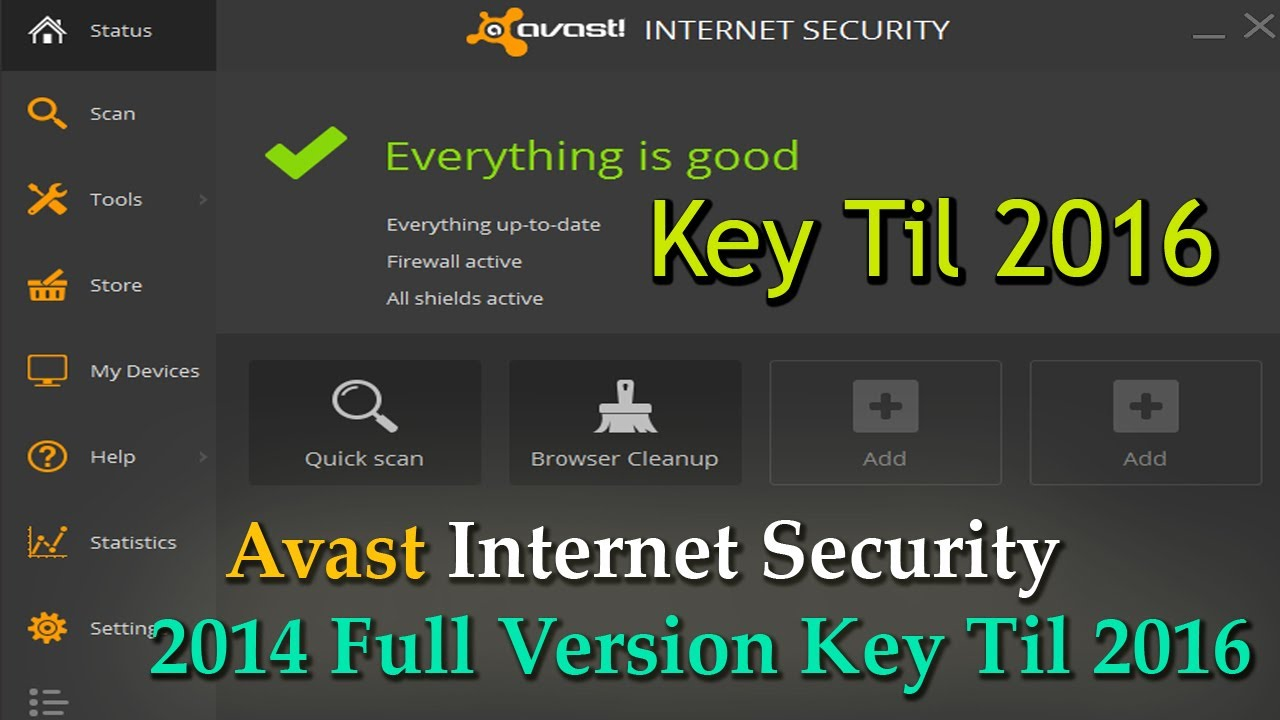 avast full version key