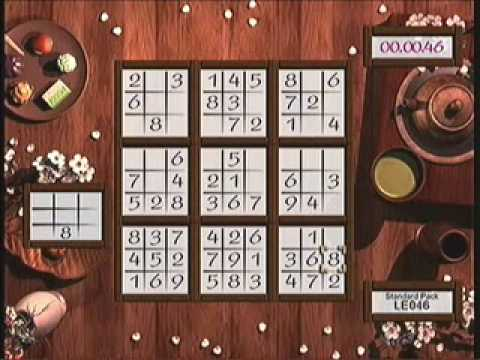 9 X 9 sudoku times of 2:33 & 2:20 on XBLA buku sudoku