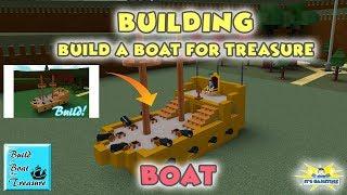 BUILDING BUILD A BOAT FOR TREASURE BOAT | Build a Boat for Treasure