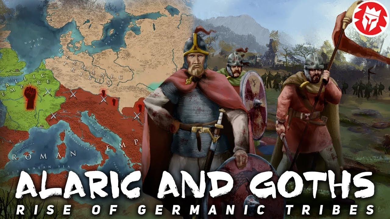 Download Alaric's Sack of Rome - Rise of the Goths DOCUMENTARY