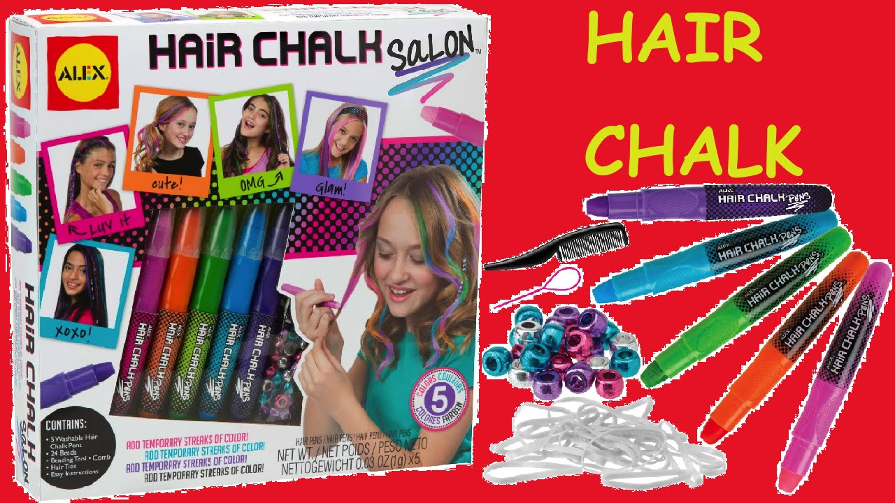 How To Make Hair Chalk Uphairstyle