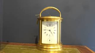 Grande Sonnerie Striking Carriage Clock with alarm by Drocourt
