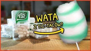 Czy Tic Tacki można zmienić w watę cukrową? Test różnych słodyczy