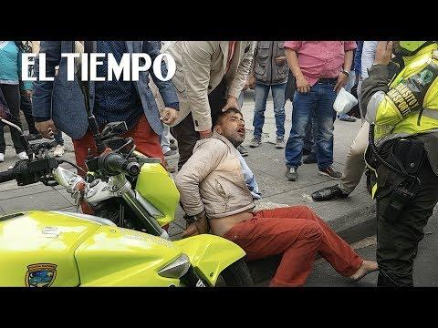 Presunto ladrón linchado en Bogotá | EL TIEMPO