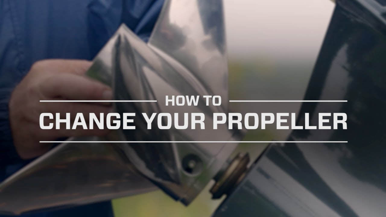 How To Change Your Propeller Youtube 1971 Johnson 50 Hp Wiring Harness Evinrude