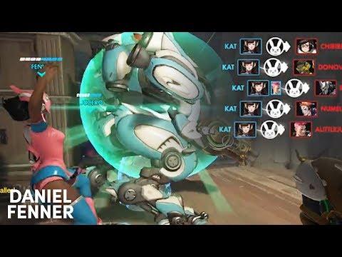 Biggest Tele DVa Bomb | Overwatch