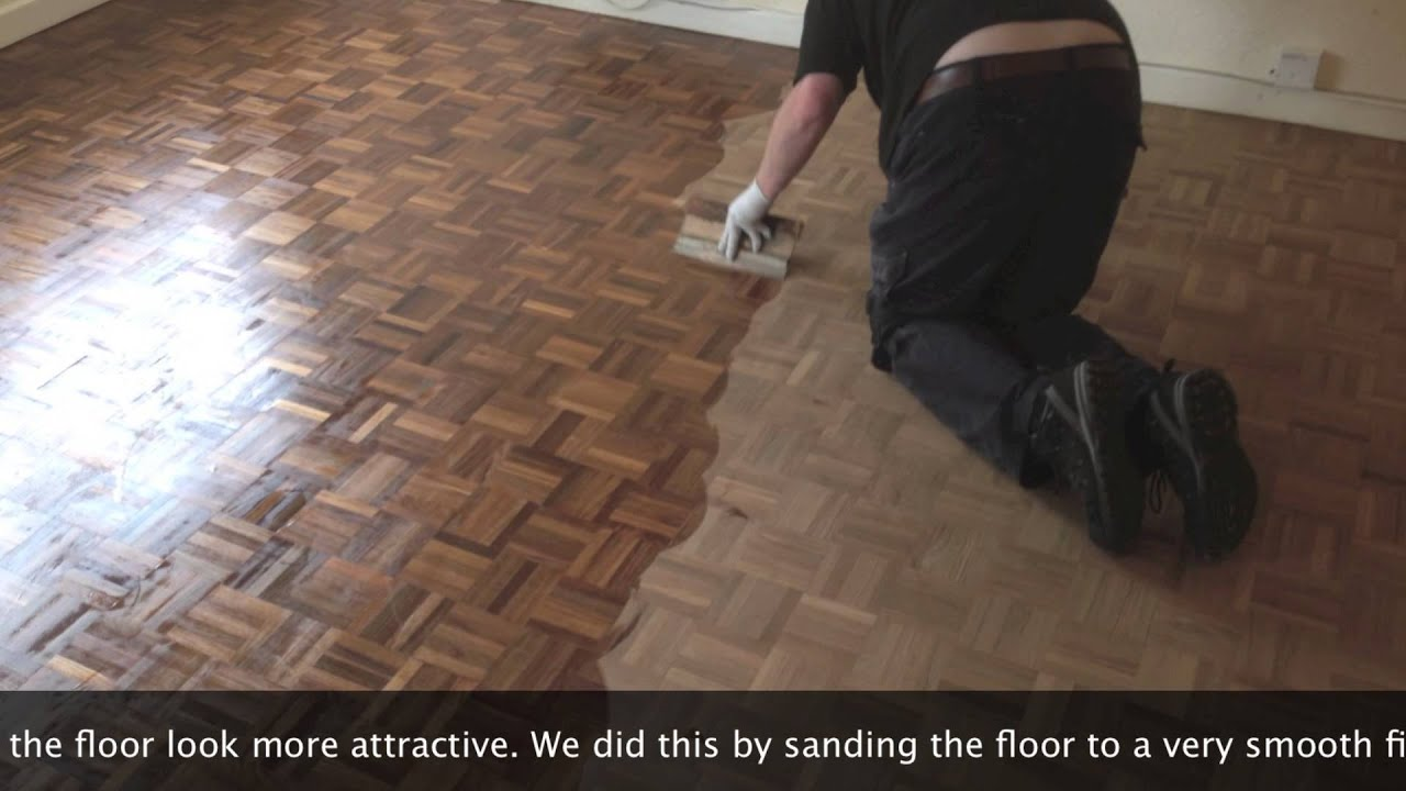 Parquet Floor Sanding Bristol 01934 611442 Youtube