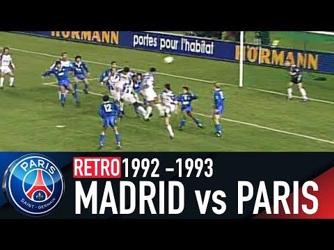 RETRO - REAL MADRID vs PARIS SAINT-GERMAIN 1992-1993 thumbnail