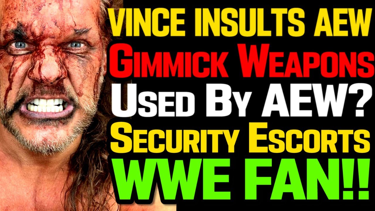 WWE News! Vince McMahon Insults AEW! Security Escorts WWE Fan! Domino's Angry With AEW! AEW News!
