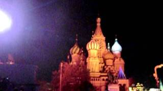 Лазерное шоу Москва 22 10 2011.