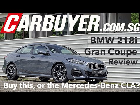 BMW 218i Gran Coupe M Sport Review Singapore - CarBuyer.com.sg