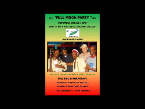 Anguilla December 2014 Full Moon Party Radio Campaign