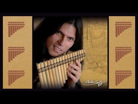 Pan Flute Music - Carlos Carty -  Relaxing Music