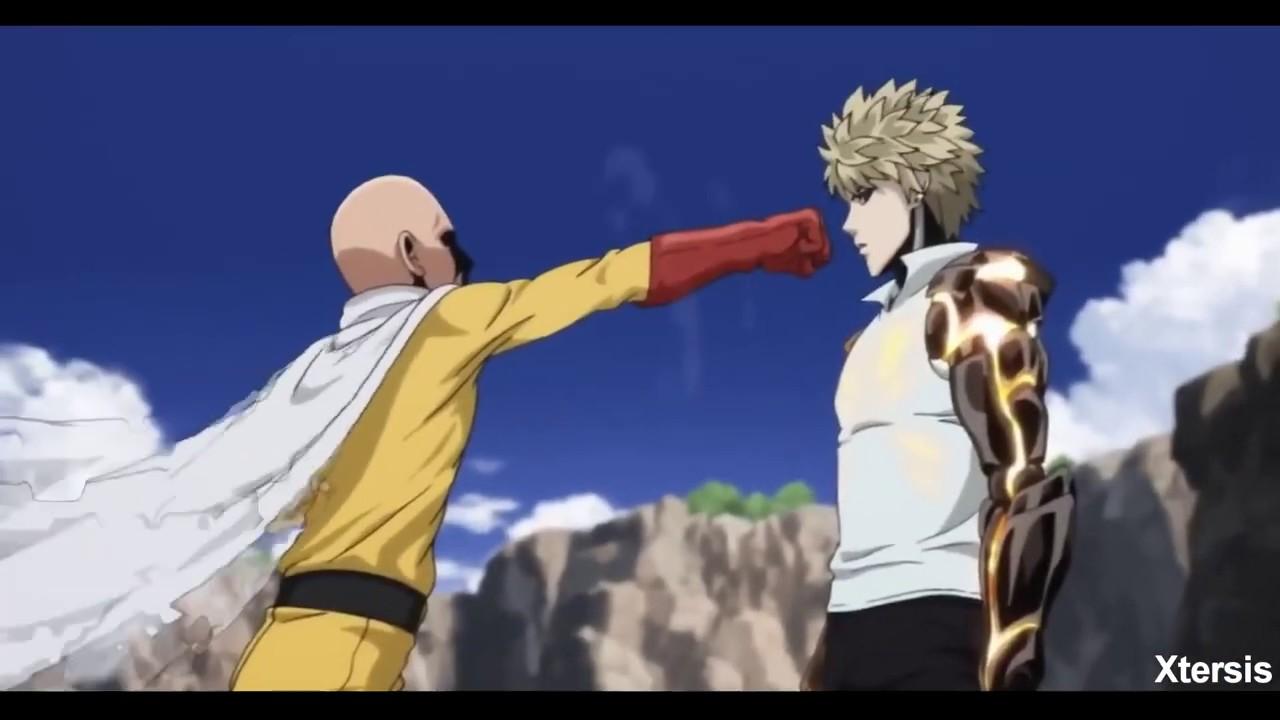 Saitama vs Genos AMV - One punch man - YouTube