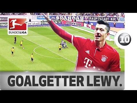 Robert Lewandowski - Top 10 Spectacular Bundesliga Goals