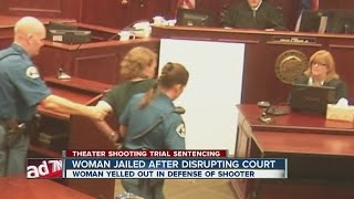 Woman jailed after disrupting court thumbnail