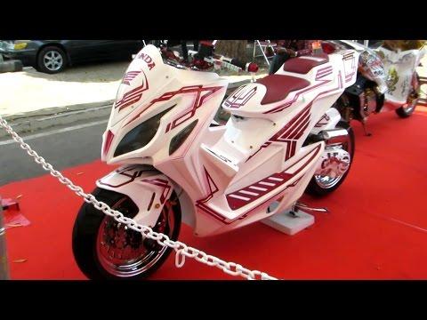 Honda Vario 125 Modifikasi - JUARA NASIONAL Kelas Matic (Kontes Modifikasi Motor Terbesar Indonesia)