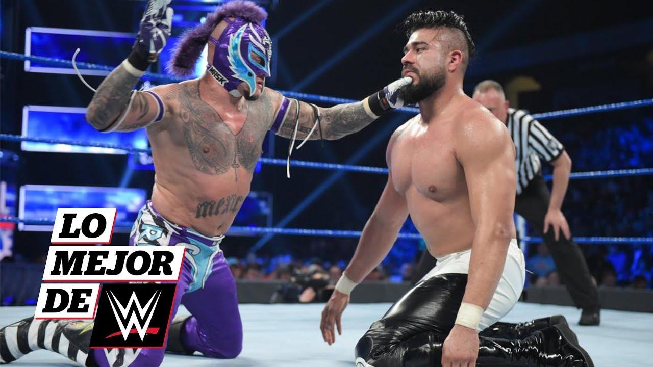 ¡Andrade y Rey Mysterio dan cátedra de lucha en el ring!: Lo Mejor de WWE